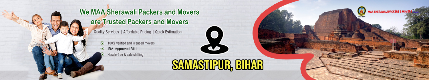 Packers and Movers Samastipur