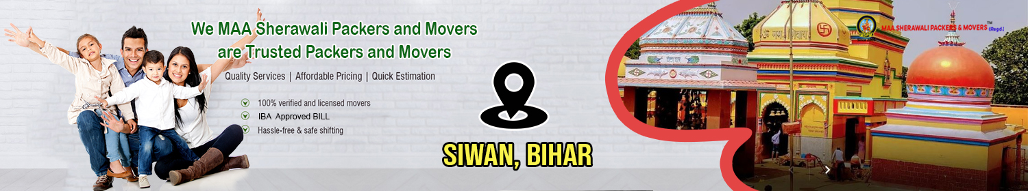 Packers and movers Siwan