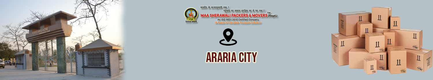 Packers and Movers in Araria