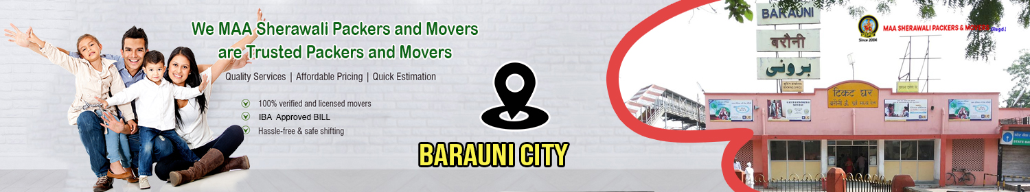 Packers and Movers in Barauni