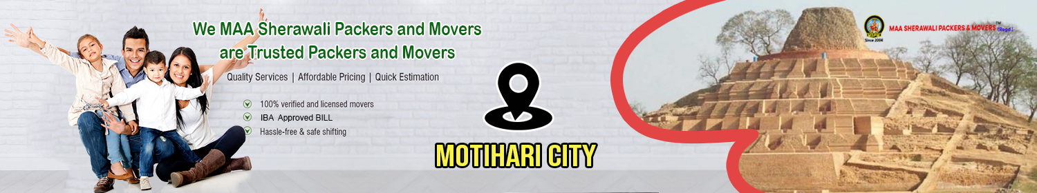 Packers and Movers in Motihari